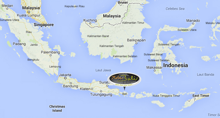 Indonesia Map | I want to go to Bali | RelaxBali EN