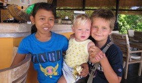 Children in Relax Bali - Discounts for our youngest