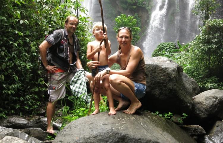Na výletě k vodopádům