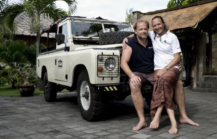 Jindra a Míša Soukalovi - spolumajitelé Resortu Relax Bali