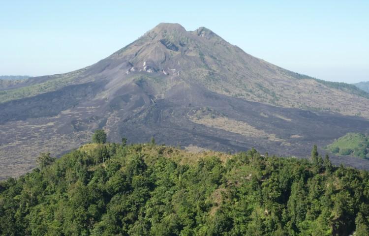 Panorama sopky Batur