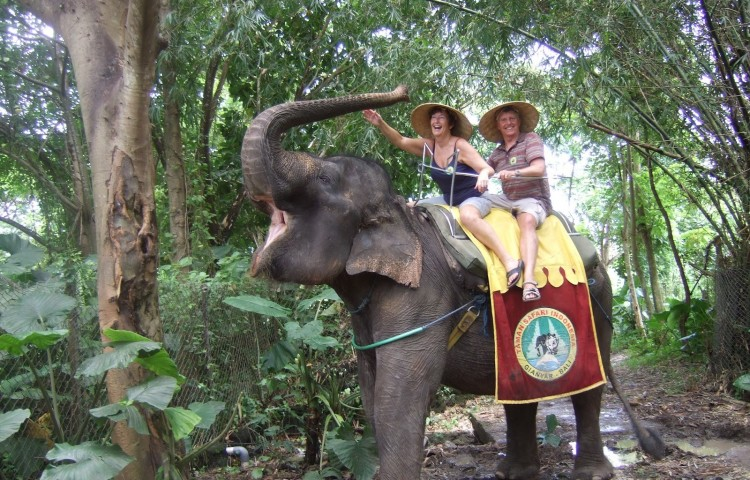 Bali-Safari-Elephant-Ride