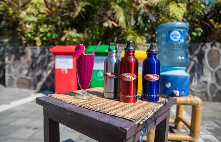 Kovové lahve na vodu Relax Bali