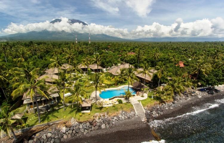 pohled na Relax Bali