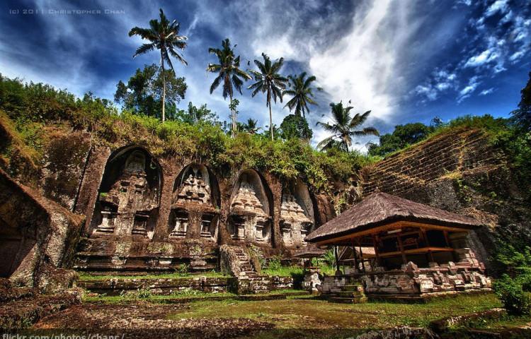Gunung Kawi - svatyně