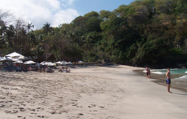 Virgin beach - bílá pláž
