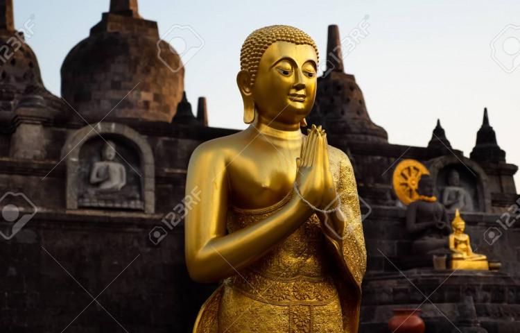 Buddha temple Brahmavihara s Relax Bali