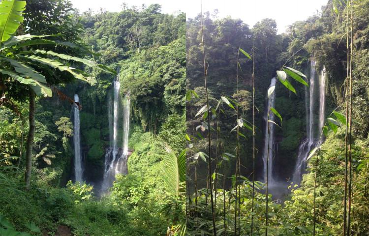vodopády Sekumpul s Relax Bali