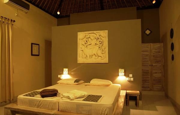 interiér vašeho bungalovu části Relax ( de luxe) resortu RELAX BALI