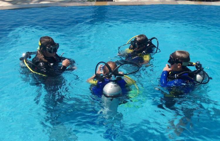 kurz potápění - RELAX BALI