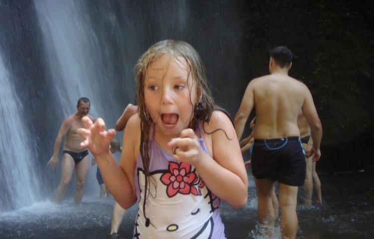 výlet k vodopádům - RELAX BALI