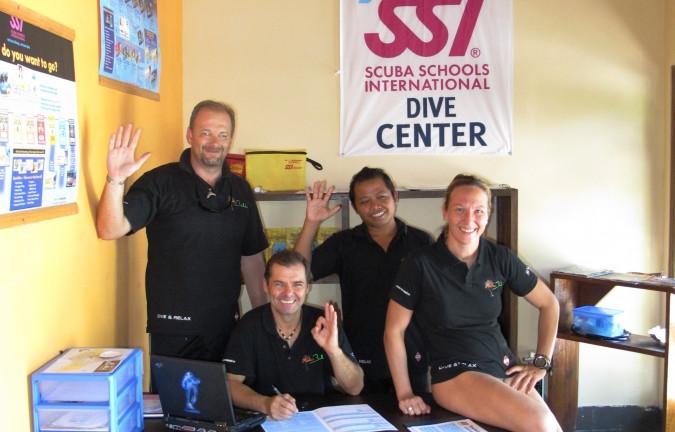 SSI diving center