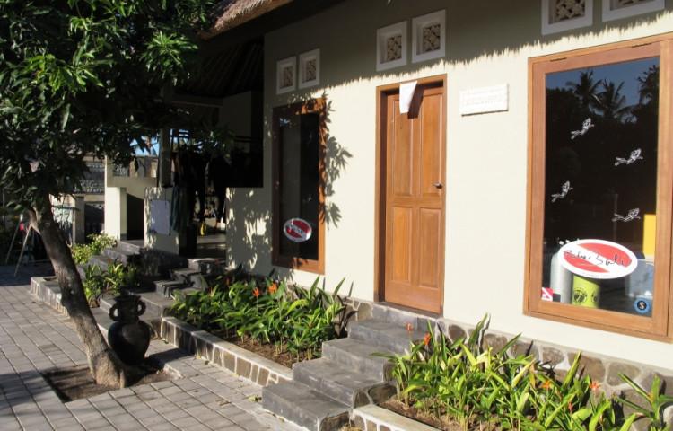 divecentrum relax Bali, schoolroom