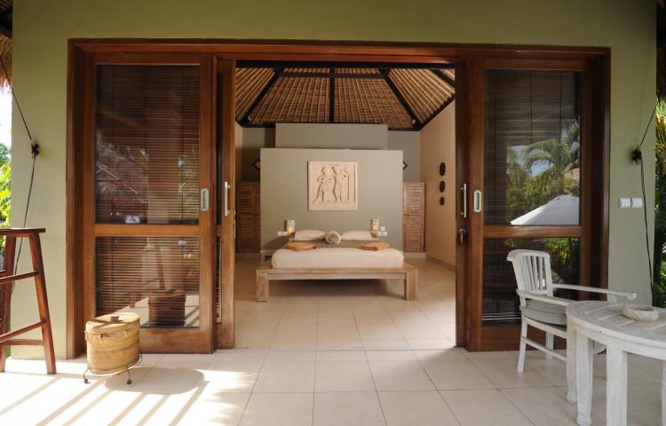 interiér bungalovu Relax Bali resort