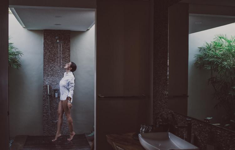 jedna z koupelen privátní vily Relax Bali